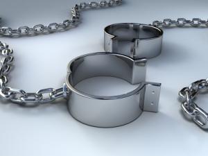 open handcuffs